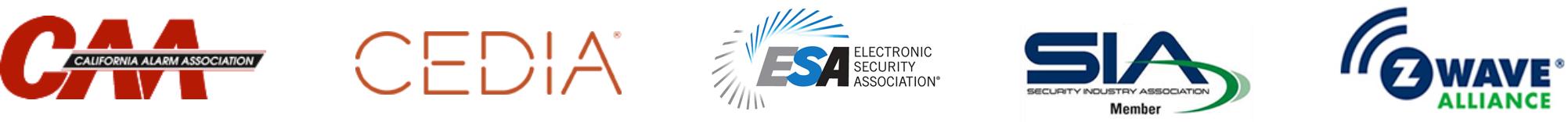 Members of CAA, CEDIA, ESA, SIA, Z-Wave Alliance