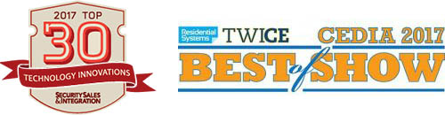Residential Systems Twice Best of Show CEDIA 2017 SSI Top 30 Tech Innovations Observables IOBOT AlwaysOn Platform Network Router Software Defined Security Device