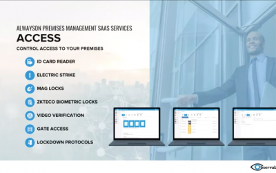 AlwaysON™ Premises Management Platform: Applications